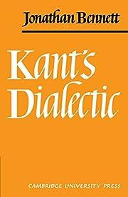 Kants Dialectic door Jonathan Bennett