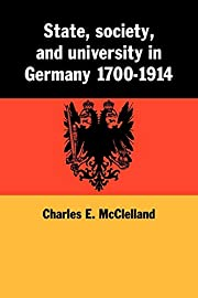 State, Society and University in Germany…