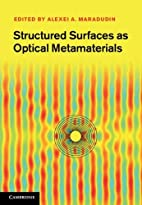 Structured Surfaces as Optical Metamaterials…