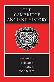 The Cambridge Ancient History Volume 7, Part…