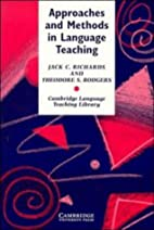 Approaches and Methods in Language Teaching:…