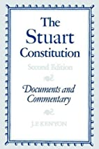 The Stuart Constitution, 1603-1688:…