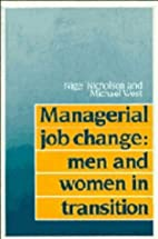 Managerial Job Change: Men and Women in…