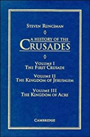 A History of the Crusades 3 volume set…