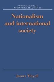 Nationalism and International Society…