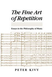 The fine art of repetition : essays in the…