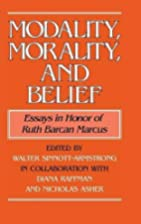 Modality, Morality and Belief: Essays in…