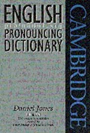 English Pronouncing Dictionary von Daniel…