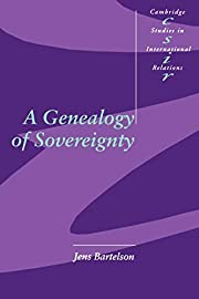 A Genealogy of Sovereignty (Cambridge…
