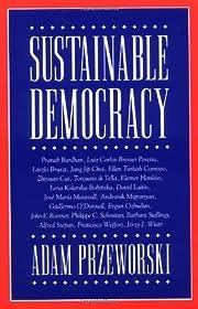 Sustainable Democracy de Adam Przeworski