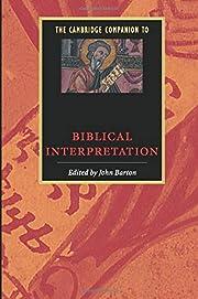 The Cambridge Companion to Biblical…