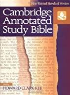 The Cambridge Annotated Study Bible: New…