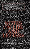 Notes on life and letters / by Joseph Conrad