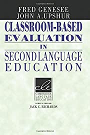 Classroom-based evaluation in second…