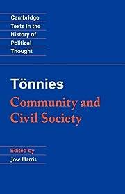 Tönnies: Community and Civil Society…