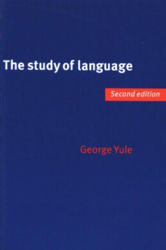 The Study of Language, Yule, George