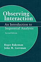 Observing Interaction: An Introduction to…