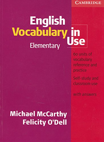 PDF] English Vocabulary in Use Elementary, with Answers