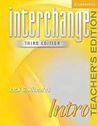 Interchange Intro Teacher's Edition…