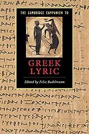The Cambridge Companion to Greek Lyric…