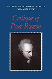 Critique of Pure Reason (The Cambridge…