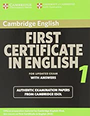 Cambridge First Certificate in English 1 for…