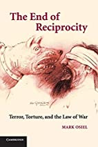The End of Reciprocity: Terror, Torture, and…