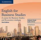 English for Business Studies Audio CDs (2):…