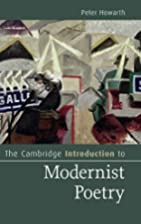 The Cambridge Introduction to Modernist…
