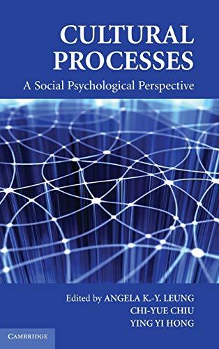 PDF] Cultural Processes: A Social Psychological Perspective