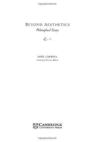 literature and moral understanding a philosophical essay on  beyond aesthetics philosophical essays