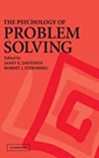 The Psychology of Problem Solving by Janet…