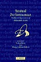 Textual Performances: The Modern…
