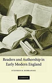 Readers and Authorship in Early Modern…