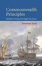 Commonwealth Principles: Republican Writing…