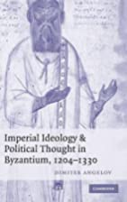 Imperial Ideology and Political Thought in…