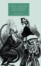 Darwin, Literature and Victorian…