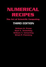 Numerical Recipes 3rd Edition: The Art of…