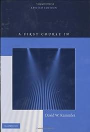 A First Course in Fourier Analysis por David…