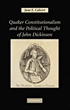 Quaker Constitutionalism and the Political…
