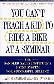 You Can't Teach a Kid to Ride a Bike at a…