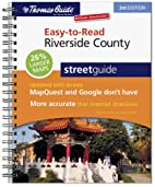 Riverside County Street Guide (Thomas Guide…