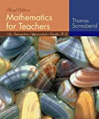Mathematics for Teachers: An Interactive…