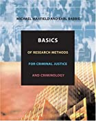 Basics of Research Methods for Criminal…