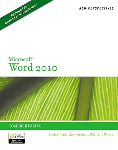 PDF] New Perspectives on Microsoft Word 2010: Comprehensive
