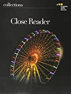 Collections: Close Reader Student Edition…