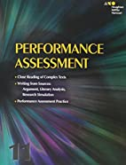 Collections: Performance Assessment Student…