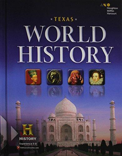 hmh world history  texas edition