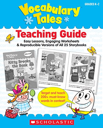 PDF] Scholastic - Vocabulary Tales, 25 Books/16 Pages and