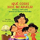 Cover art for ¡Que cosas dice mi Abuela!